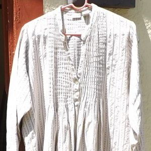 L.L. Bean Long Sleeve Nightgown with Pintucks